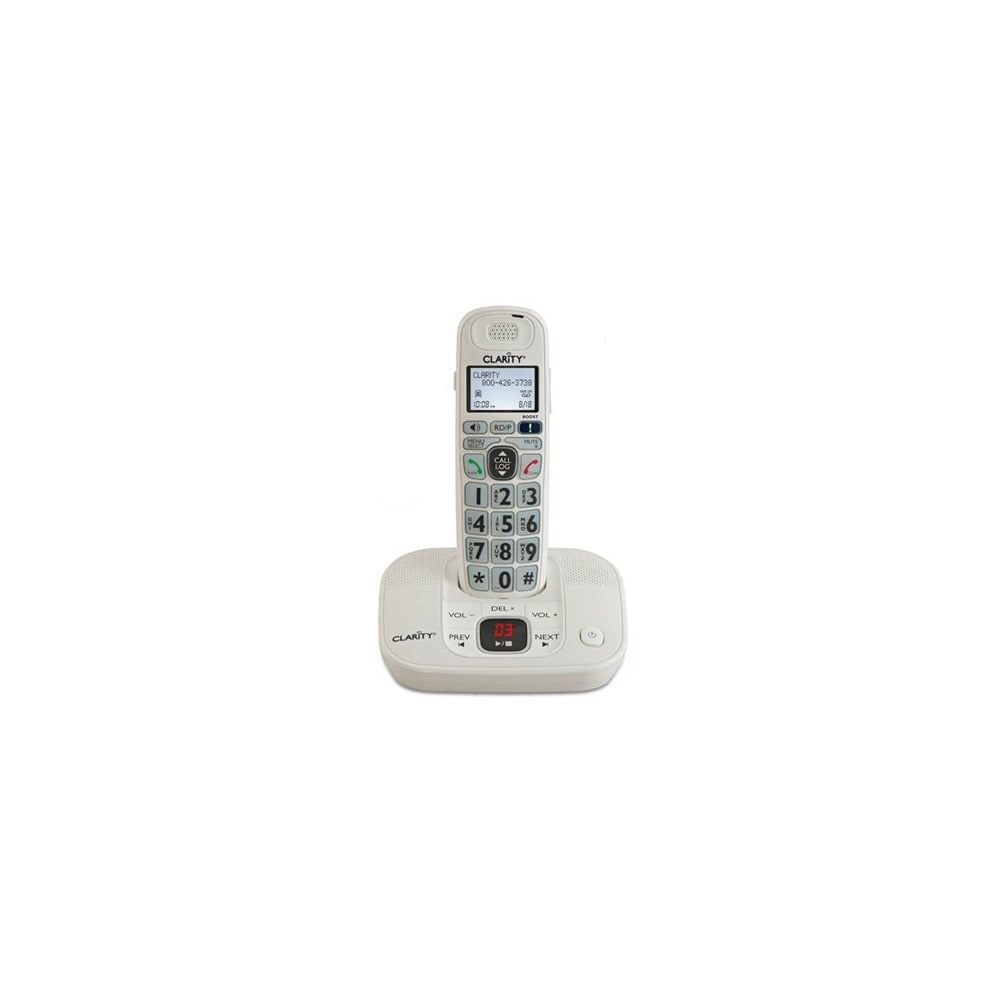 Clarity D712 3 D702HS D712 Amplified Cordless Big Button Phone