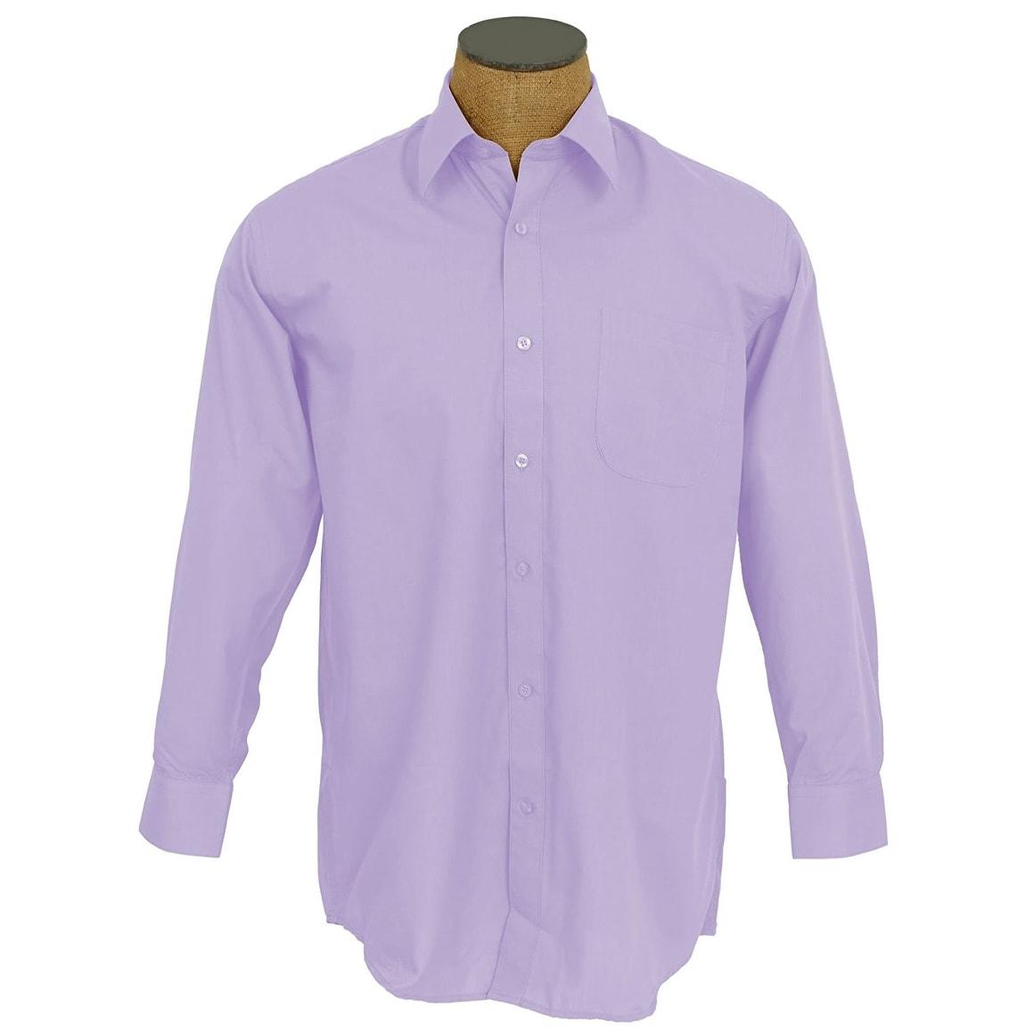 Shop Boys Solid Color Cotton Blend Dress Shirt Free Shipping On