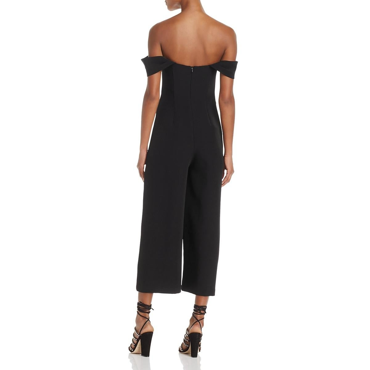 d56090335e0 Shop Keepsake Womens Shooting Star Jumpsuit Crop Cold Shoulder - On Sale -  Free Shipping On Orders Over  45 - Overstock - 25736849
