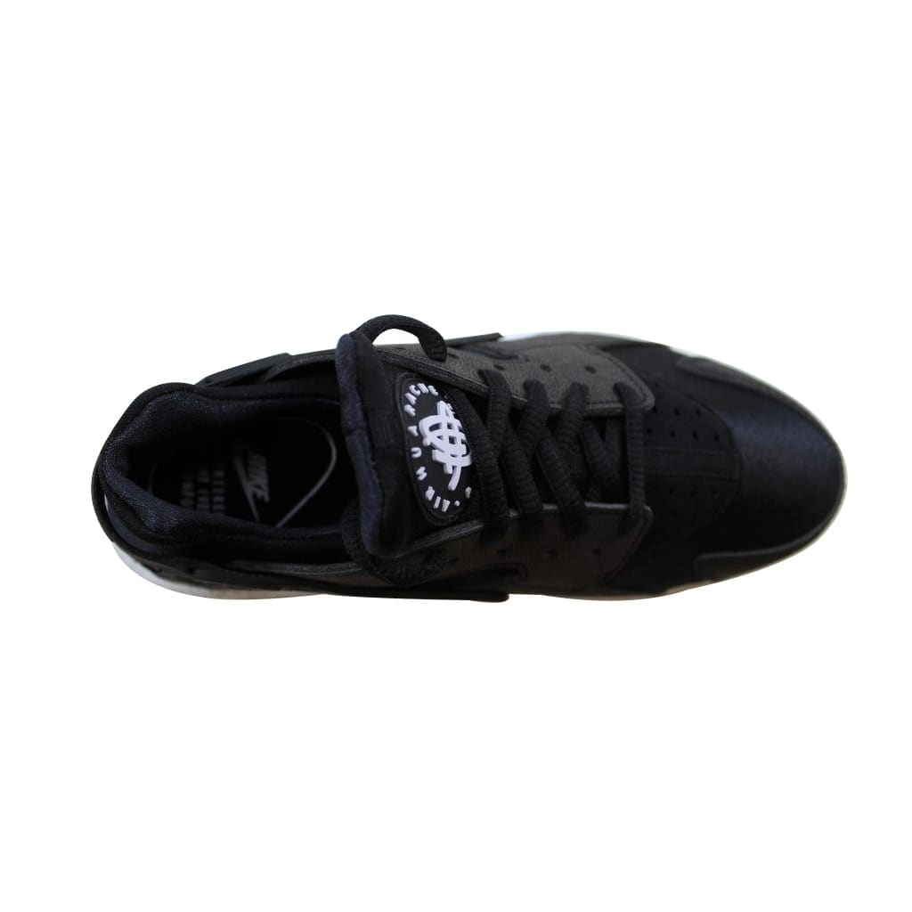 free shipping 20387 ab10b Shop Nike Women s Air Huarache Run Black Black-White 634835-006 - Free  Shipping Today - Overstock - 22919413