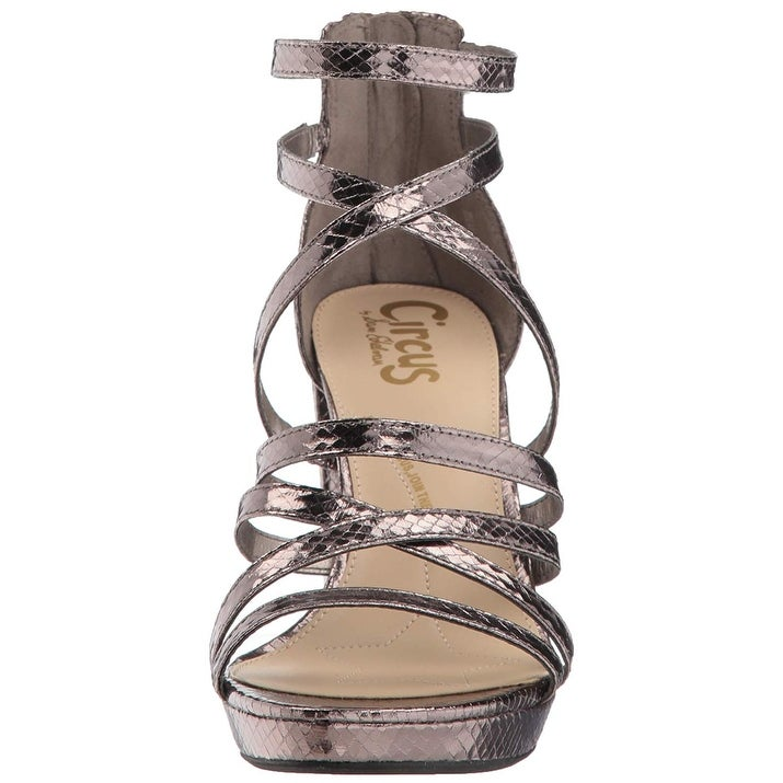 bfec56f330c5 Shop Circus by Sam Edelman Women s Adele Heeled Sandal - Free Shipping On  Orders Over  45 - Overstock - 27316150