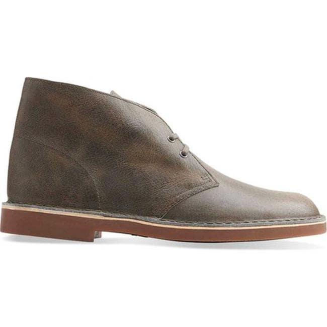 0fb75f74975 Clarks Men's Bushacre 2 Boot Grey Leather