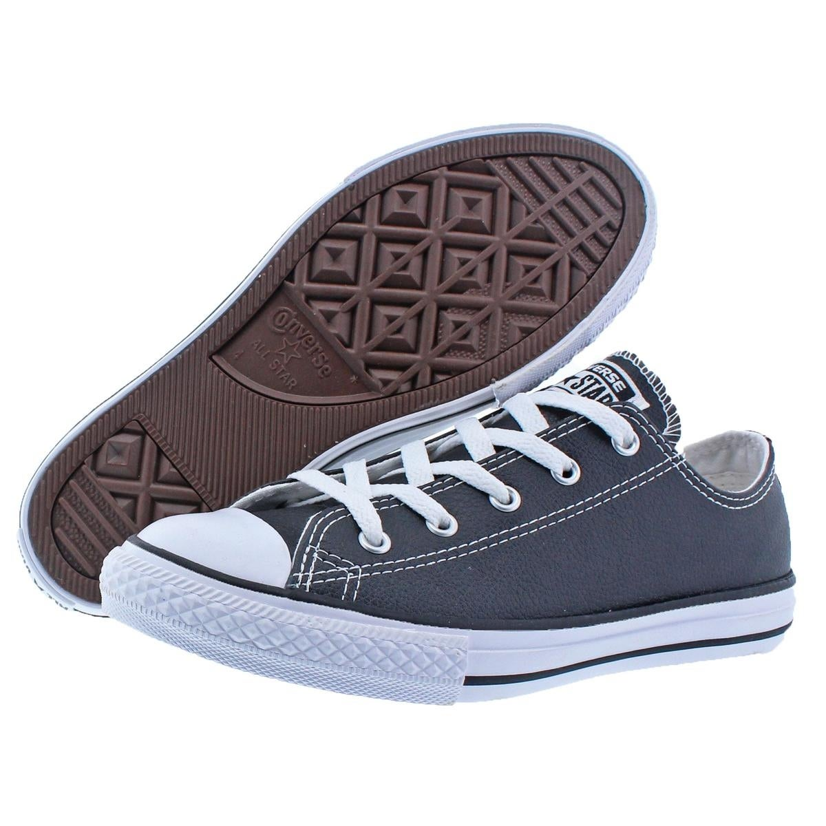 9c56d84bde77 Shop Converse Boys Chuck Taylor Ox Skate Shoes Big Kid Low-Top - Free  Shipping On Orders Over  45 - Overstock - 22133250
