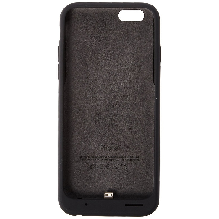 2c797ccbf Shop Apple Smart Battery Case for iPhone 6 and 6S - Charcoal Grey - Free  Shipping Today - Overstock - 18767916