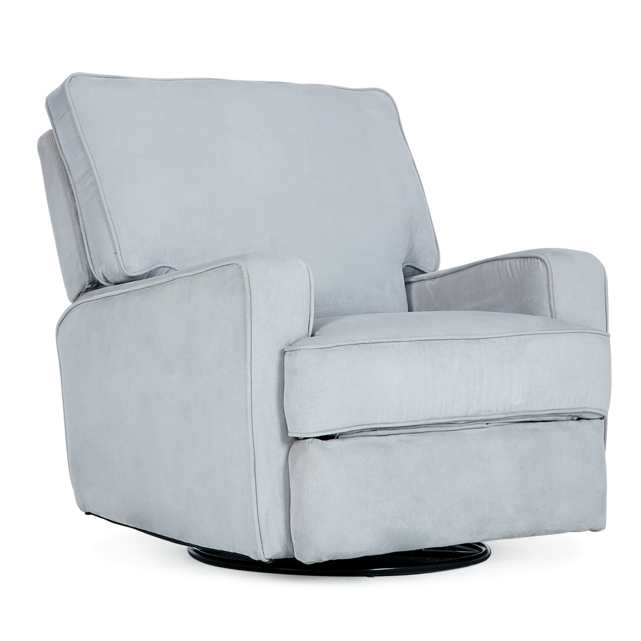Shop Belleze Swivel Glider Recliner Padded Backrest with Extra ...
