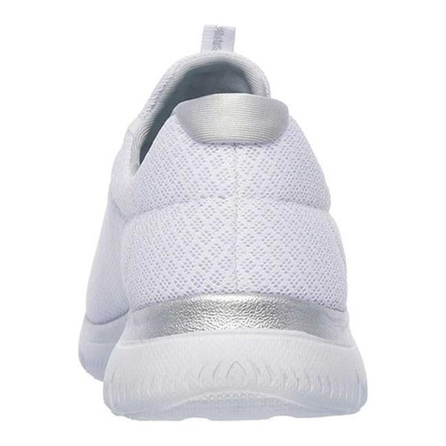 b0ad8bac4129 Shop Skechers Women s Summits Training Sneaker White Silver - On Sale -  Free Shipping On Orders Over  45 - Overstock - 21492172