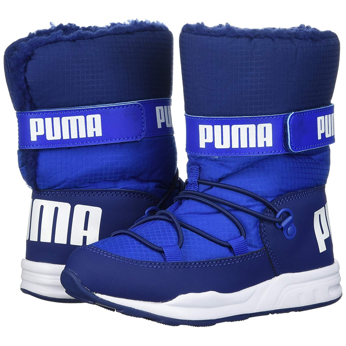 2a43ddc37d1285 Shop PUMA Boys trinomic Ankle Pull On Snow Boots - Free Shipping On Orders  Over  45 - Overstock - 22392147
