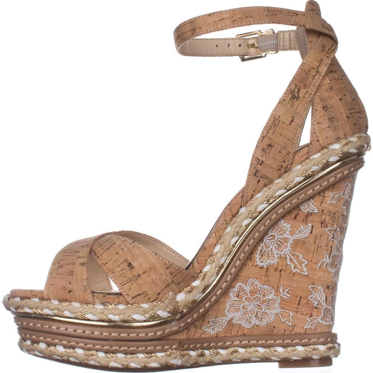 11cd960dc6 Shop Jessica Simpson Ahnika Wedge Sandals, Natural Cork - Free Shipping  Today - Overstock - 20751393