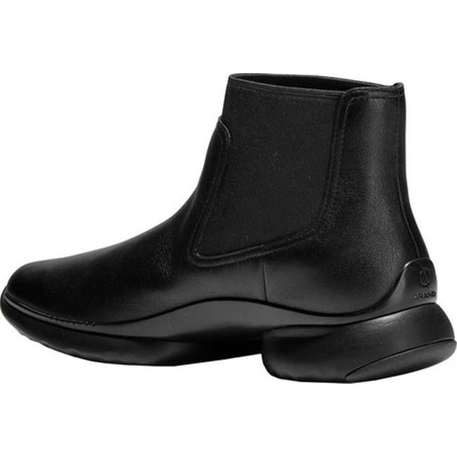2649c36bbf06 Shop Cole Haan Women s 3.ZEROGRAND Waterproof Chelsea Boot Black Waterproof  Leather - Free Shipping Today - Overstock - 24103212
