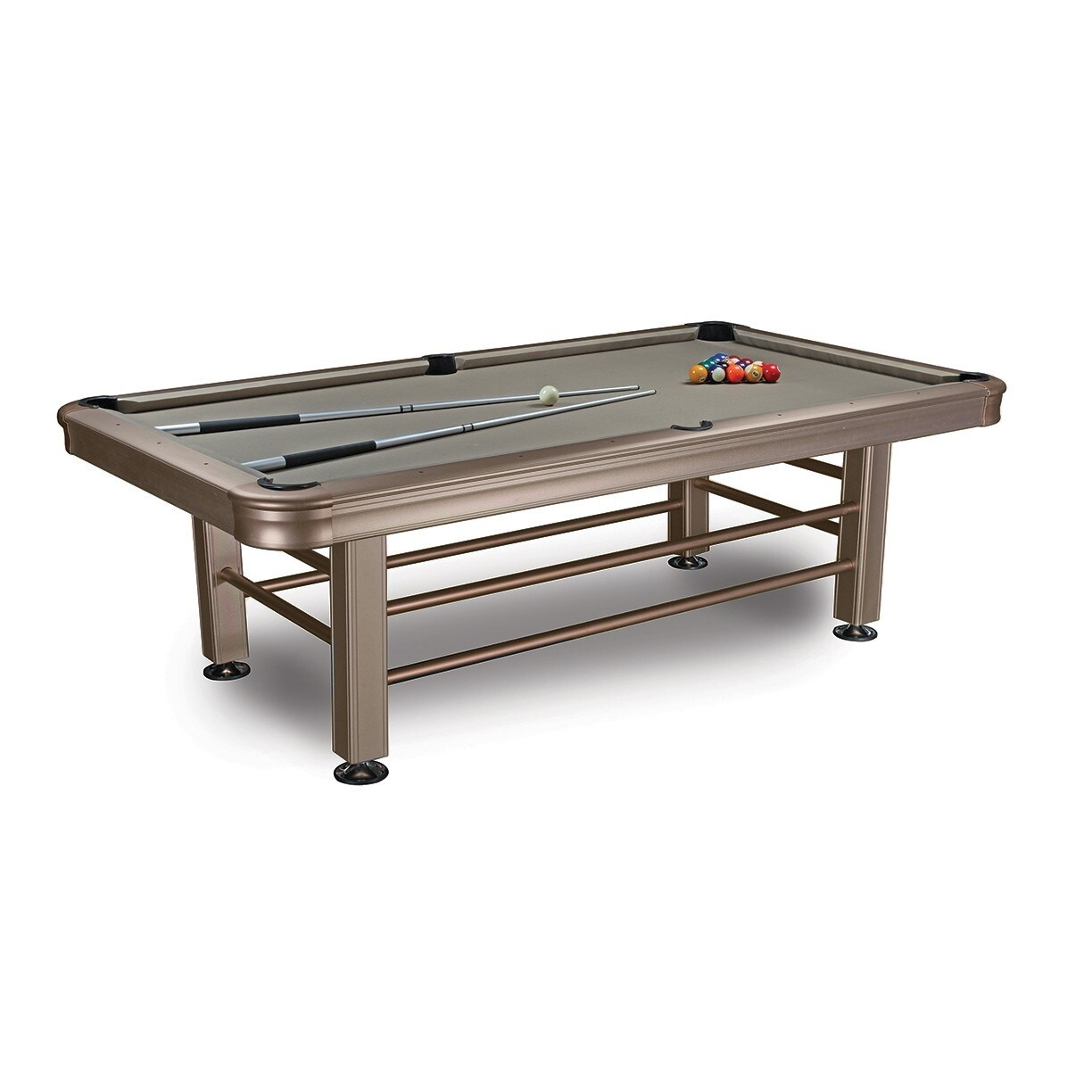 Exceptionnel Shop Imperial 8u0027 Outdoor Pool Table With Accessories / 29 830   Silver    Free Shipping Today   Overstock   18504580