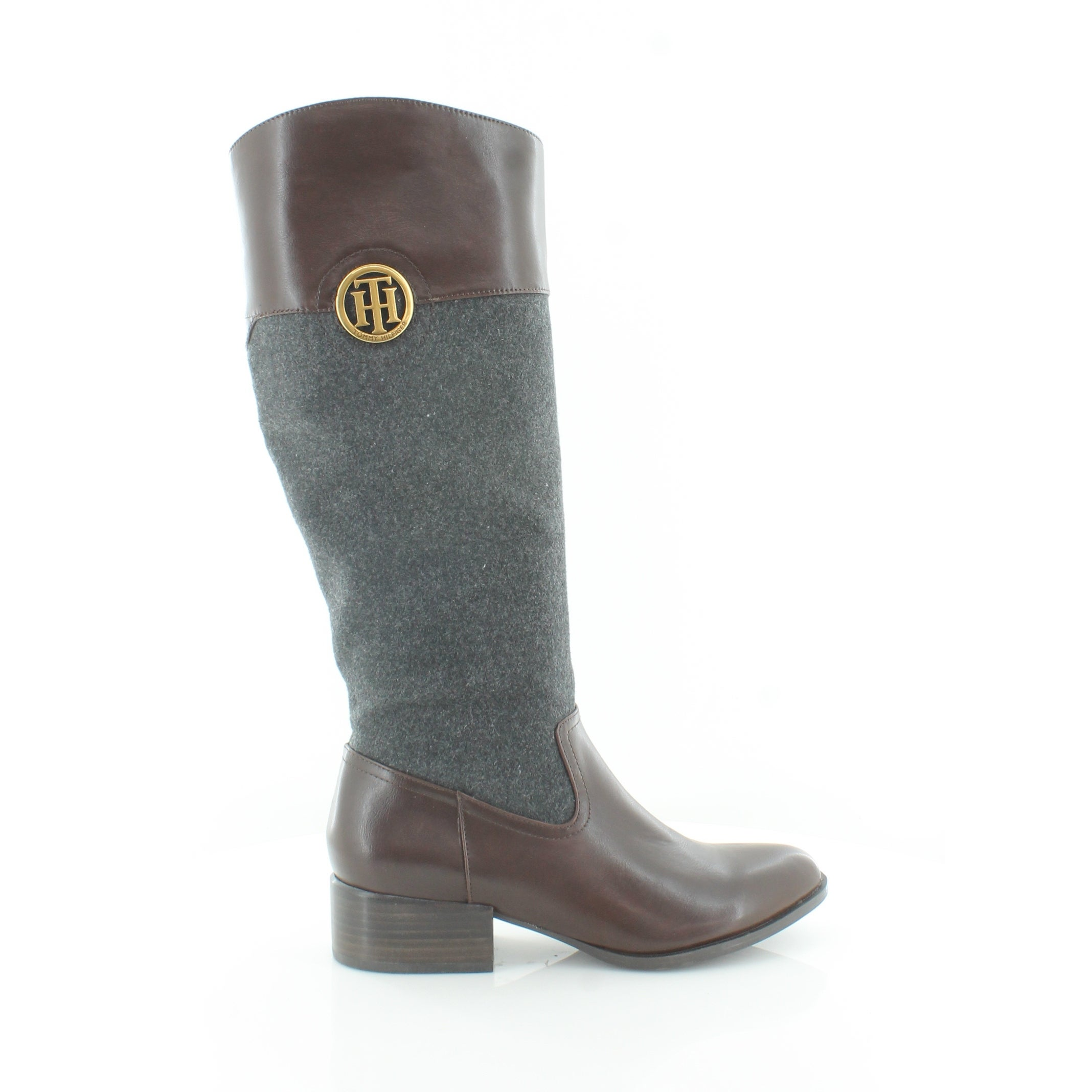 6bee931c0 Shop Tommy Hilfiger Madelen Women s Boots Dark Gray - Free Shipping Today -  Overstock - 26290732