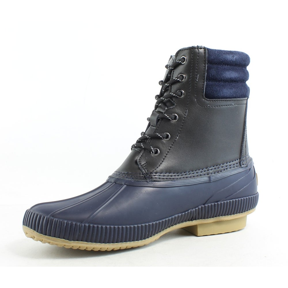 2e3d825a3001c Shop Tommy Hilfiger Mens Claymont Black Snow Boots Size 9 - Free Shipping  Today - Overstock.com - 26457747