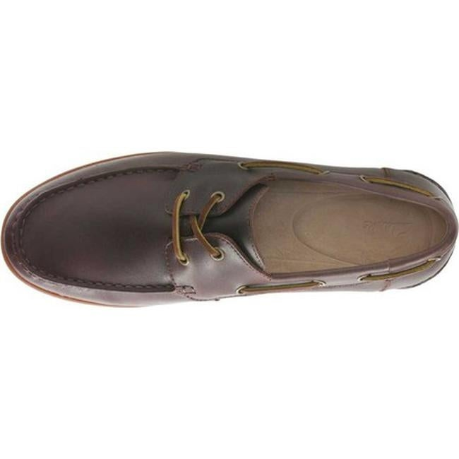 d876dde514f Shop Clarks Men s Morven Sail Boat Shoe British Tan Leather - Free Shipping  Today - Overstock - 27347163