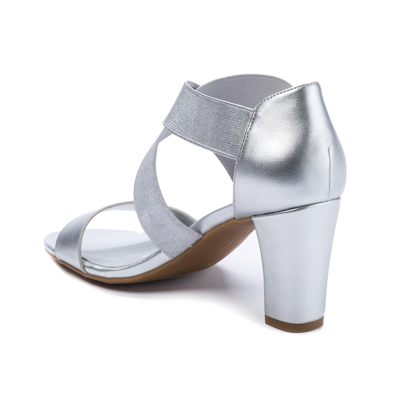 8c0769e187c Shop Andrew Geller Queena Women s Heels Silver - Free Shipping Today -  Overstock - 21286663