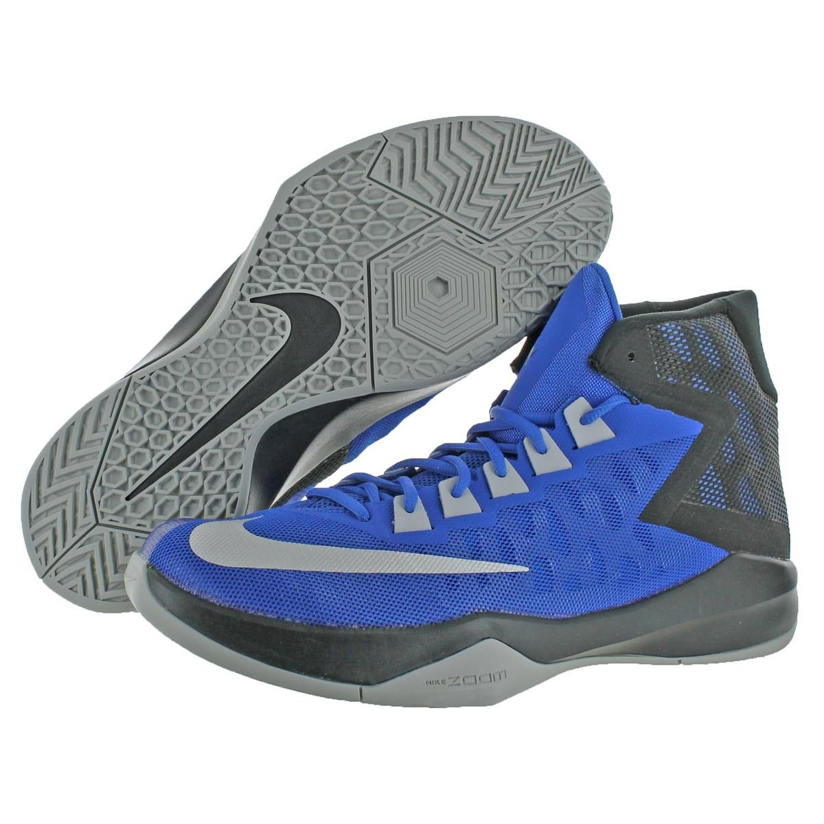 20fe14e5f44c Shop Nike Mens Zoom Devosion Basketball Shoes High Top Color block - Ships  To Canada - Overstock - 22118764