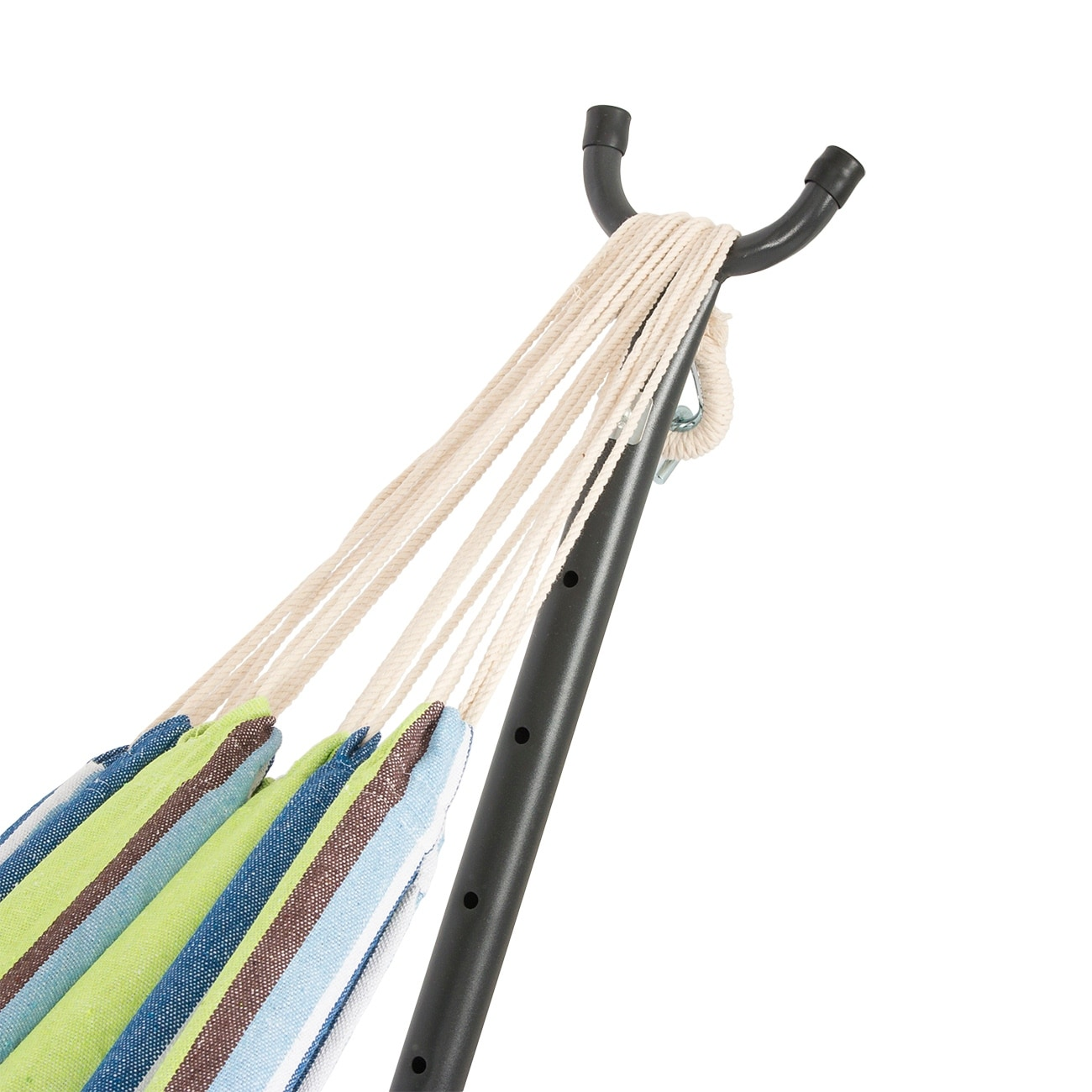 belleze 10ft double hammock stand with carrying bag portable set oasis   free shipping today   overstock     22281993 belleze 10ft double hammock stand with carrying bag portable set      rh   overstock