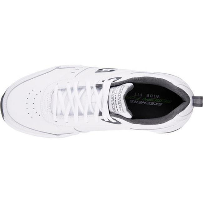 Skechers Men's Haniger Training Sneaker WhiteCharcoal