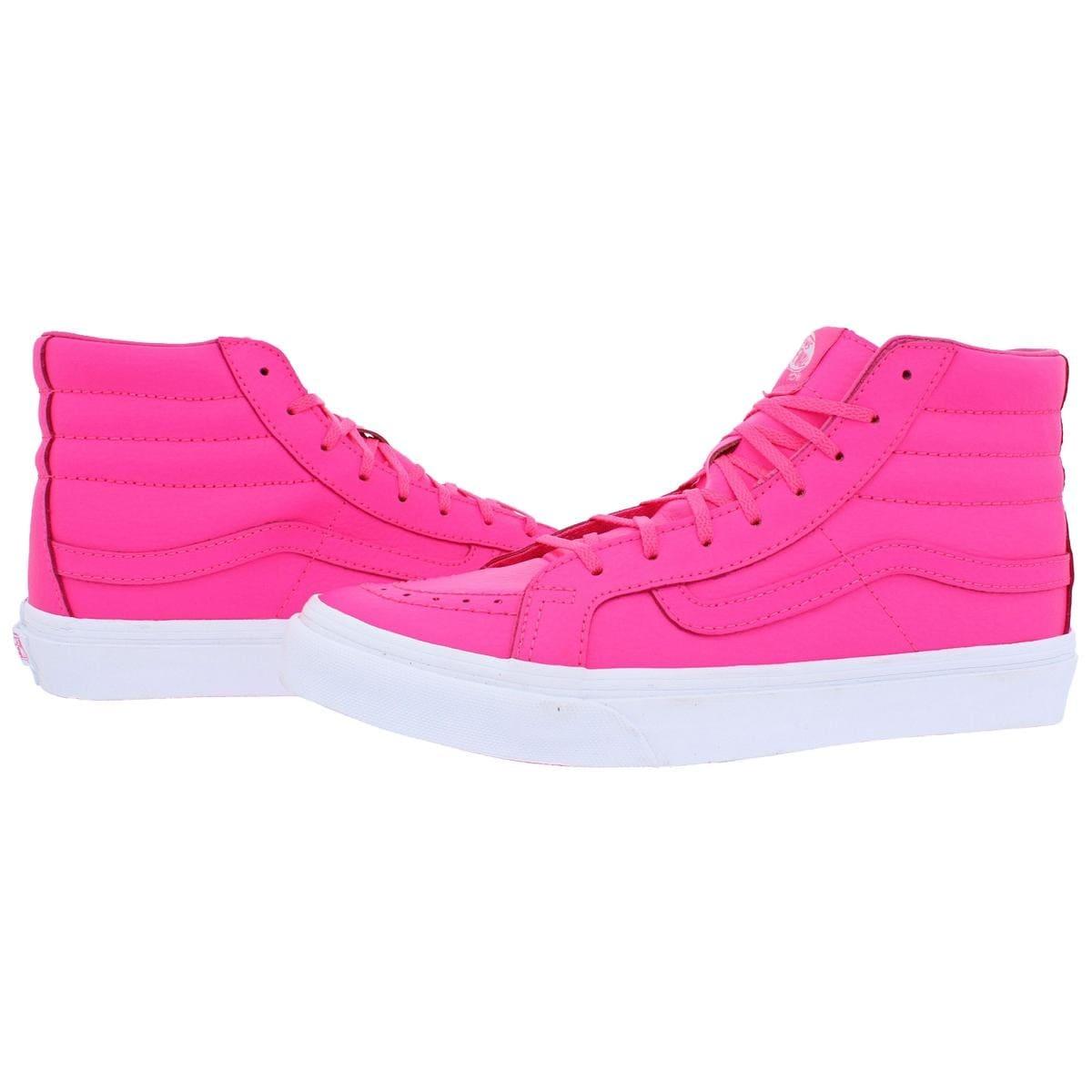 e4d9c8db15 Shop Vans Womens SK8-Hi Slim Neon High Top Sneakers Skate Neon - 8.5 medium  (b