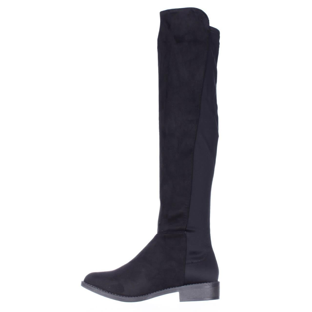 08378cb2e980 Shop Rebel by Zigi Olaa Over The Knee Stretch Back Boots