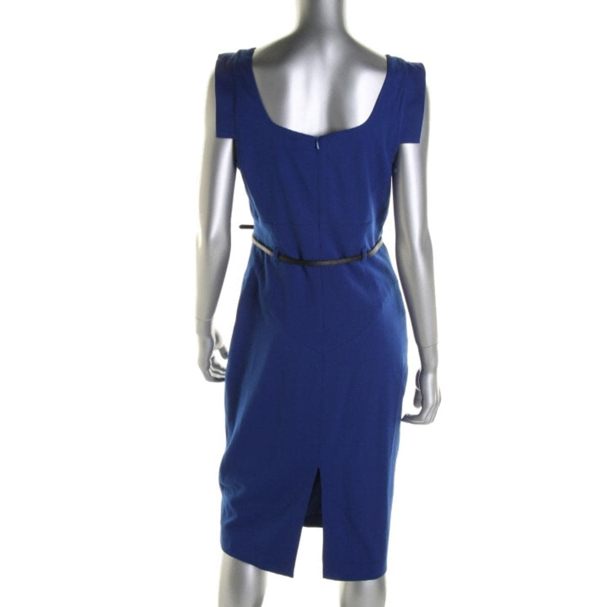 4e26b4f4975 Shop Black Halo Womens Jackie Wear to Work Dress Cap Sleeves Open Back -  Free Shipping Today - Overstock - 13045011