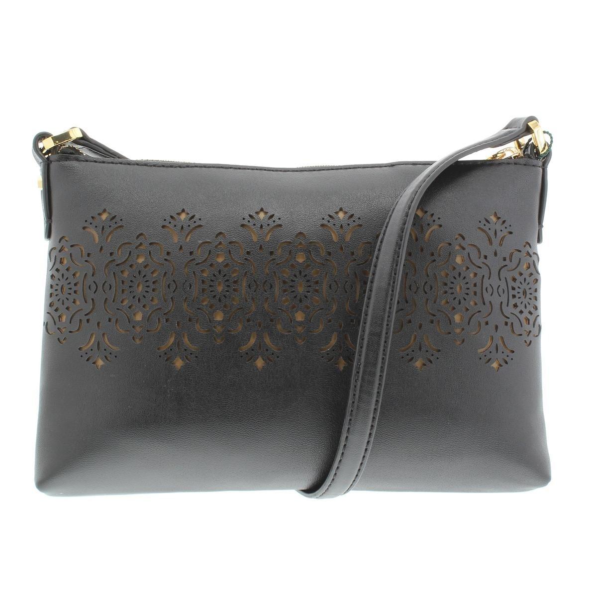 99703d2b4b5b Shop Lauren Ralph Lauren Womens Lauderdale Tasmine Shoulder Handbag Faux  Leather - small - Free Shipping Today - Overstock - 22733865