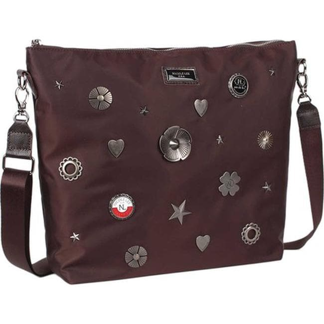 9fc320630431 Nicole Lee Women s Liya Lucky Charms Cross Body Bag Brown - US Women s One  Size (Size None)
