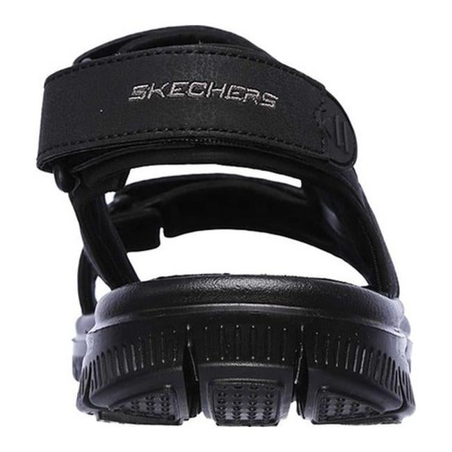 c4be17ede511 Shop Skechers Men s Flex Advantage S Upwell Sport Sandal Black Black - On  Sale - Free Shipping On Orders Over  45 - Overstock - 19427066