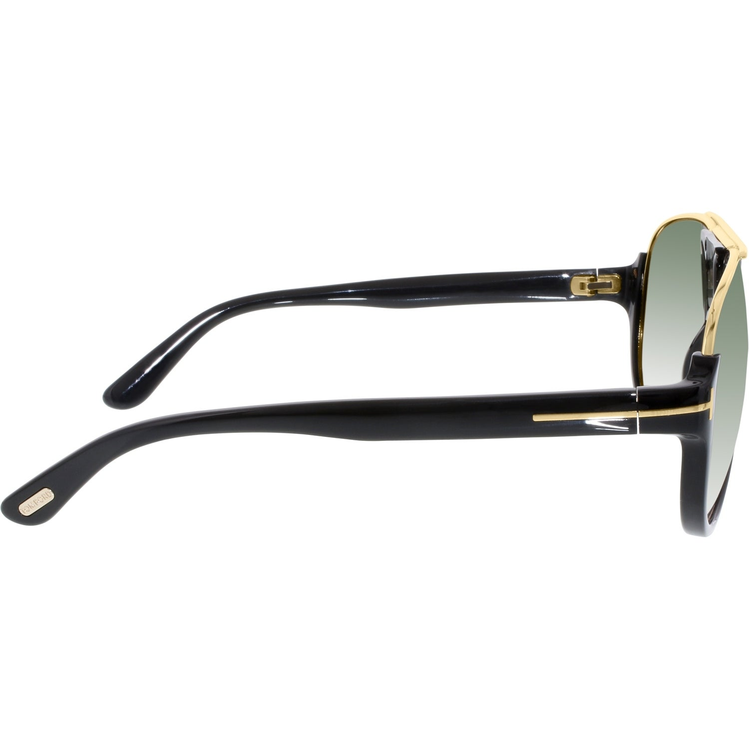 6c903f3a4 Shop Tom Ford Men's Gradient Dimitry FT0334-01P-59 Black Aviator Sunglasses  - Ships To Canada - Overstock - 18901403