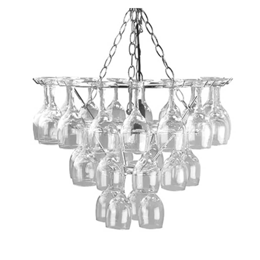 Leitmotiv vino 31 wine glass 19 inch diameter chandelier free leitmotiv vino 31 wine glass 19 inch diameter chandelier free shipping today overstock 24715333 arubaitofo Image collections