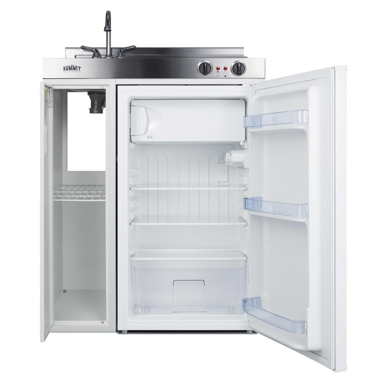 Shop Summit C30el 30 Inch Wide All In One Kitchen Unit
