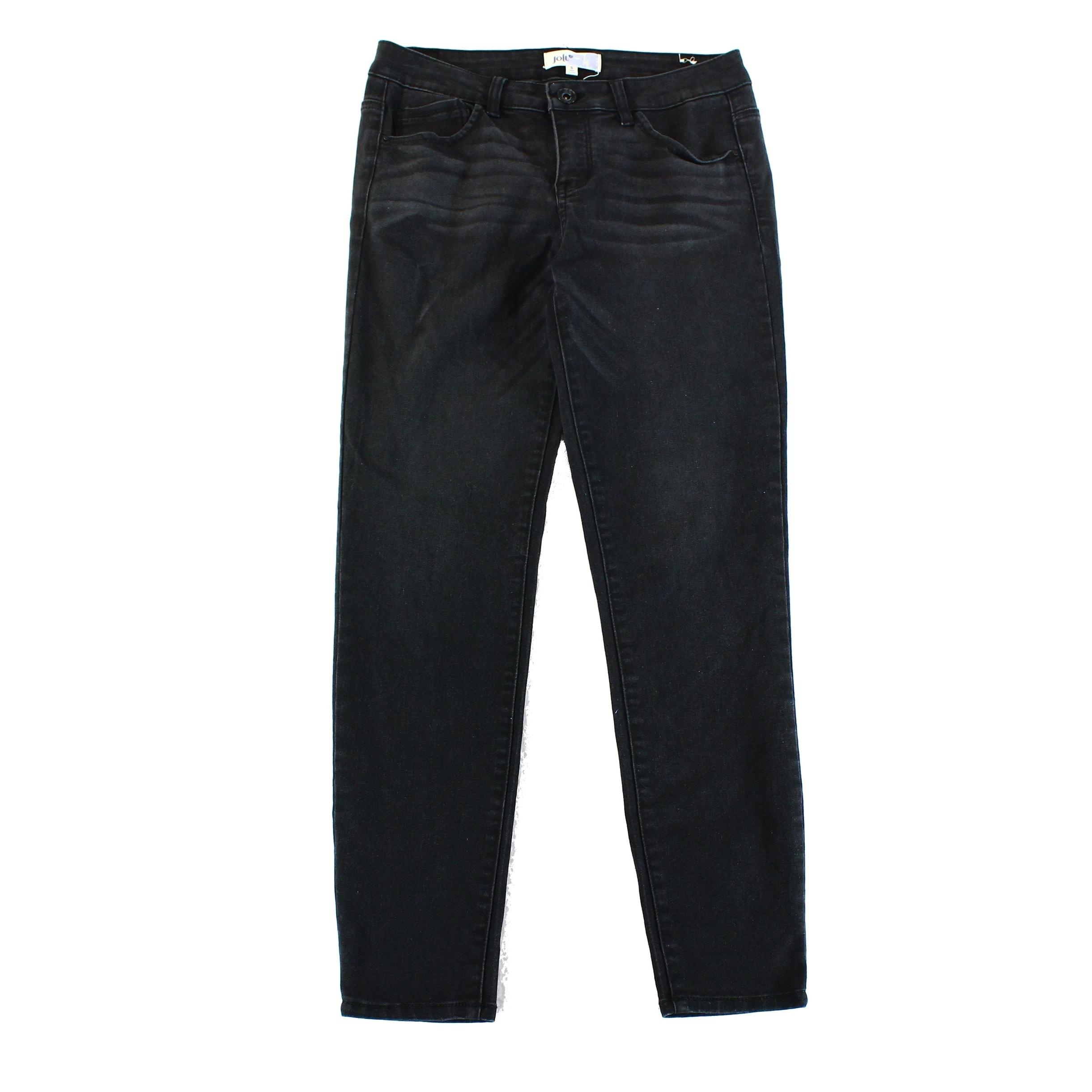 b045359ea12 Shop JOLT NEW Blue Dark Wash Denim Size 9x28 5-Pocket Junior Straight Leg -  Free Shipping On Orders Over  45 - Overstock.com - 17857643