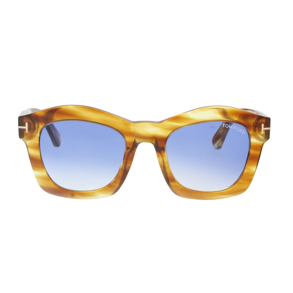 60540aa7e0a64 Shop Tom Ford FT0431 S 41W GRETA Amber Square Sunglasses - 50-21-140 - Free  Shipping Today - Overstock - 19223189