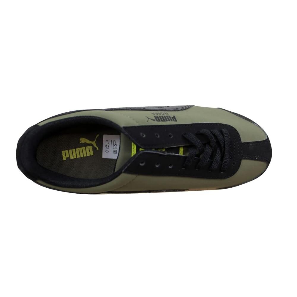 Shop Puma Roma SL NBK Jr Olive Black-Sulphur Spring Grade-School 356349 10  Size 4 Medium - Free Shipping Today - Overstock - 22340515 799c669d5