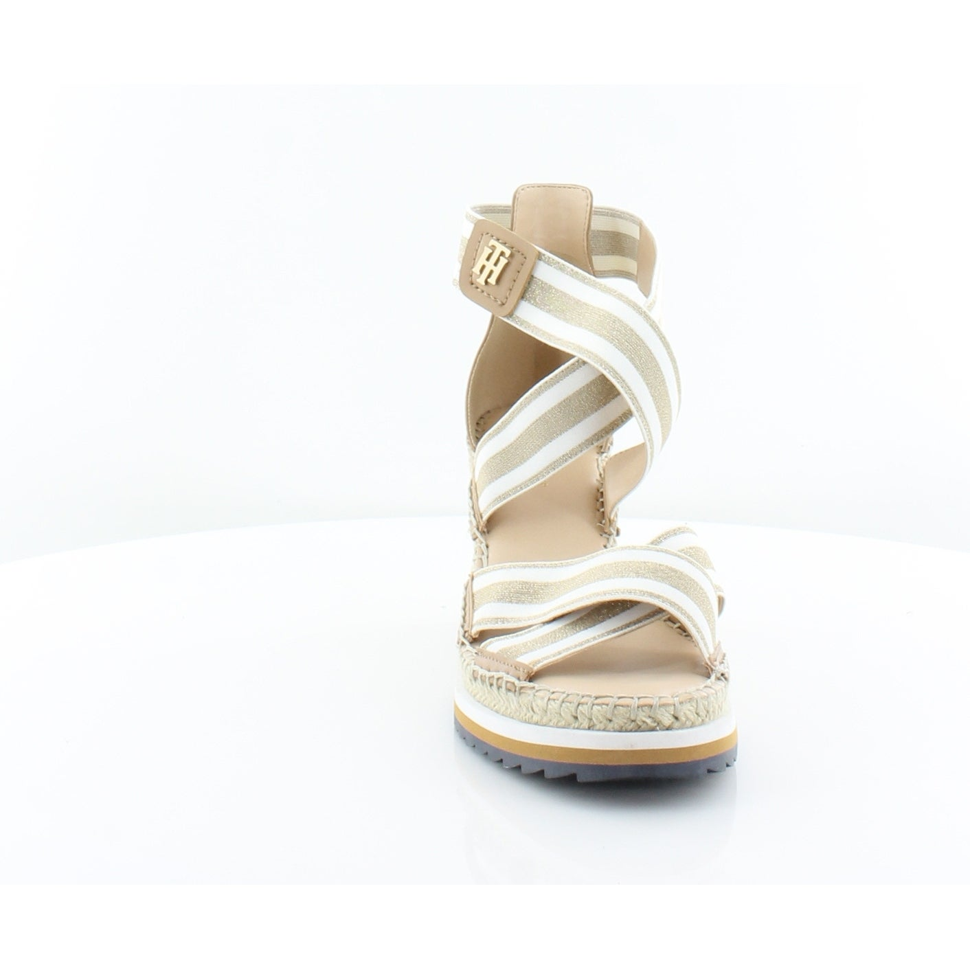 0d6604d13b05 Shop Tommy Hilfiger Yesia Women s Sandals Gold Multi - Free Shipping On  Orders Over  45 - Overstock - 26949133