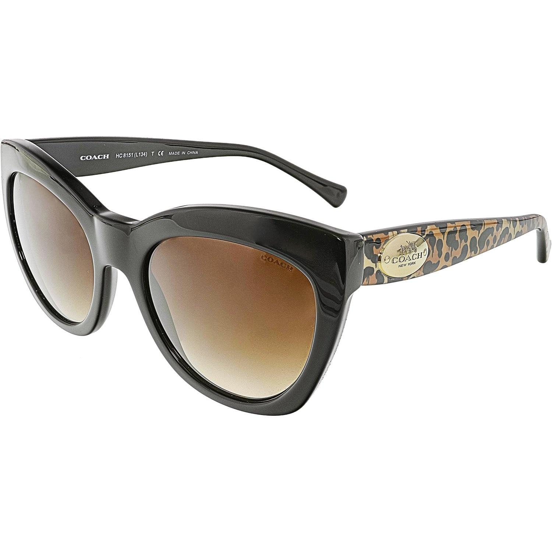 09cb5d2e8bc78 ... australia shop coach womens gradient hc8151 534213 54 black cat eye  sunglasses free shipping today overstock