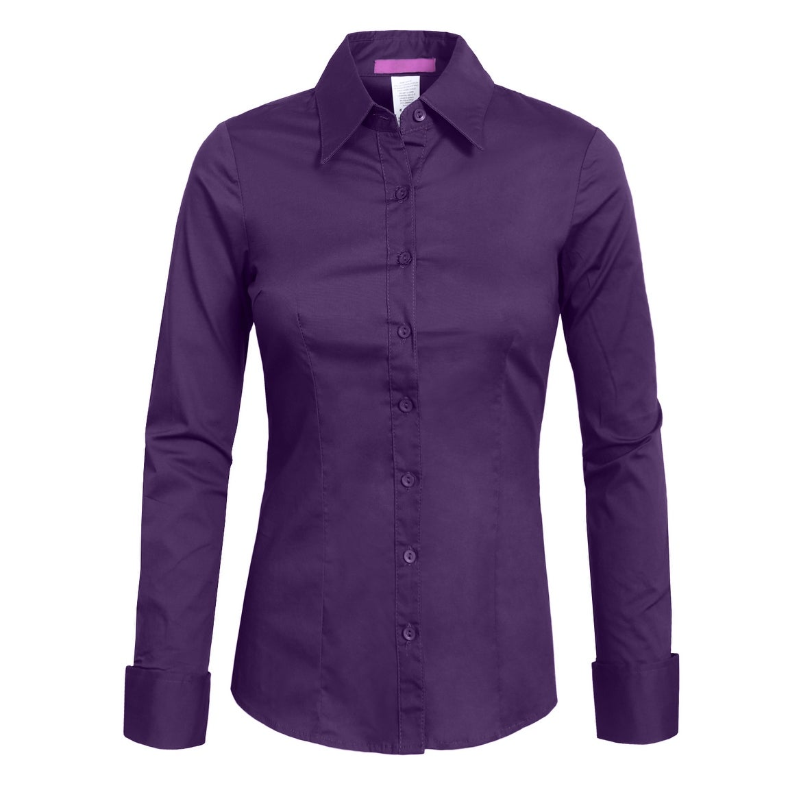 Shop Ne People Womens Tailored Long Sleeve Button Down Shirt Newt04