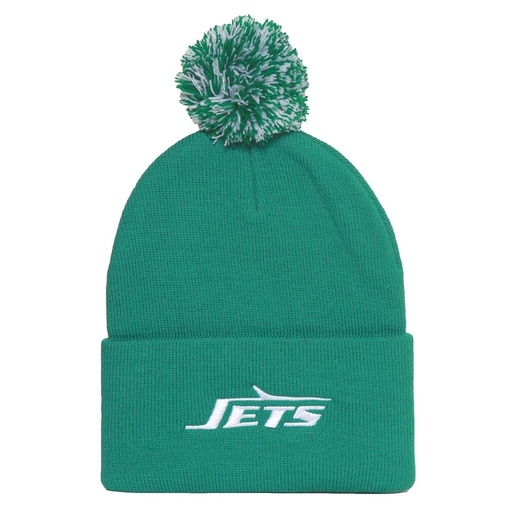 d1604094 New York Jets Beanie with Pom - Green - New York Jets