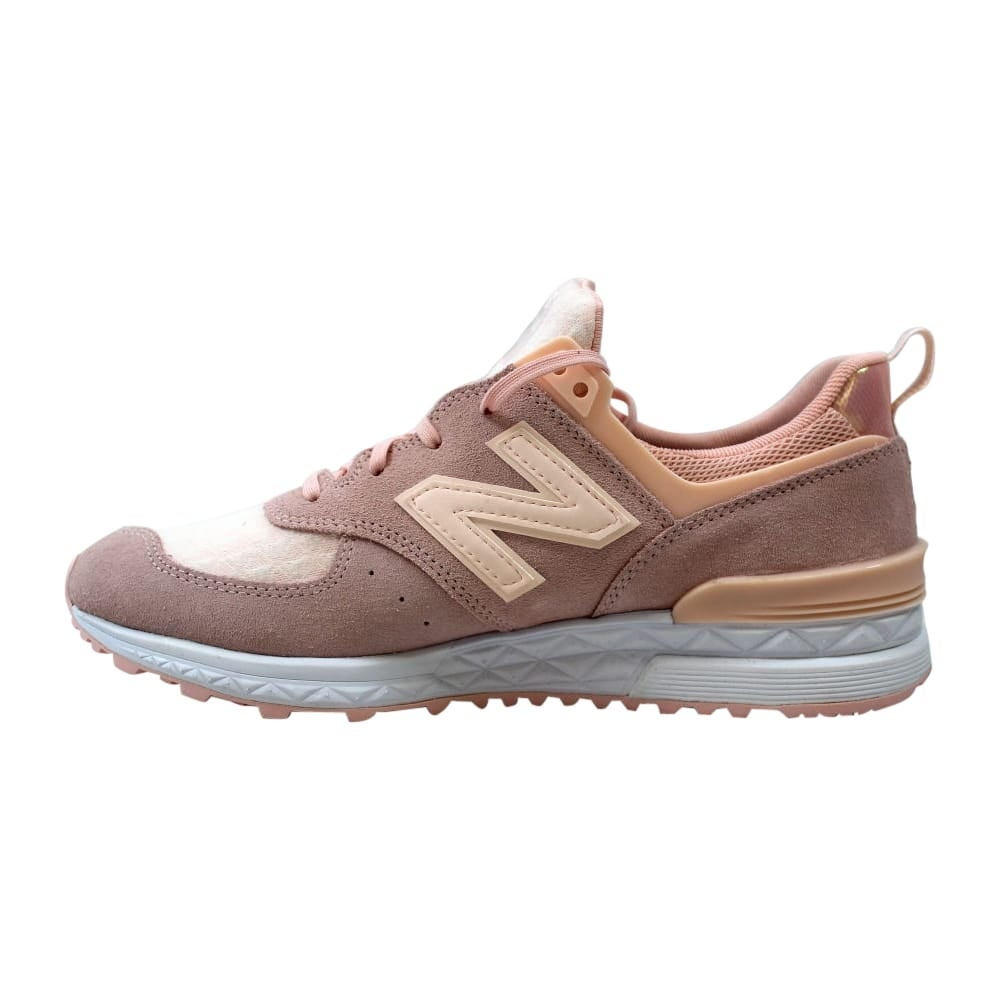 f6b2f5a6a4b Shop New Balance 574 Sport Rose Pink Women s WS574SNC Size 9 Medium - Free  Shipping Today - Overstock - 27640541
