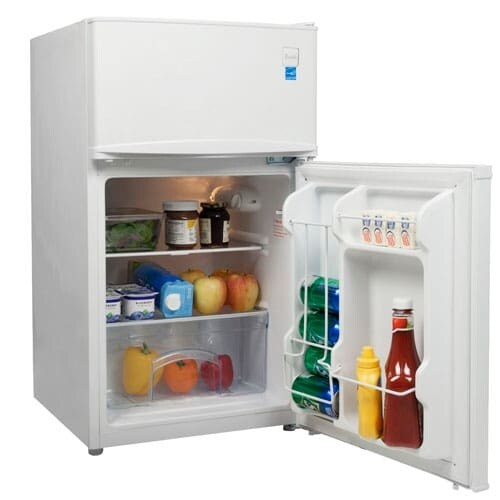 Shop Avanti RA3106 Energy Star 3.1 Cu. Ft. Two Door Compact Refrigerator/Freezer    Free Shipping Today   Overstock.com   18792466