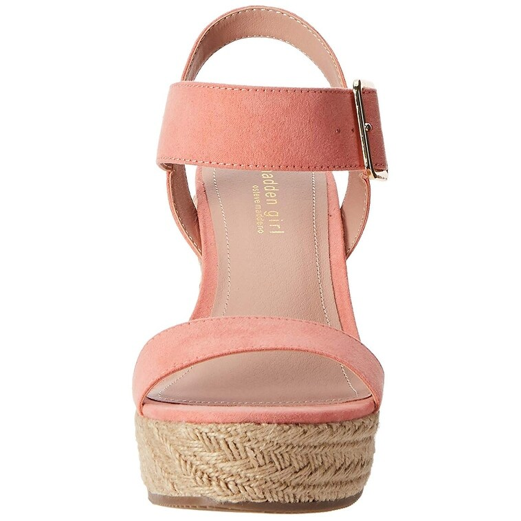 787aaaa12fc Shop Madden Girl Women s Vail Espadrille Wedge Sandal - Free Shipping On  Orders Over  45 - Overstock.com - 26267155