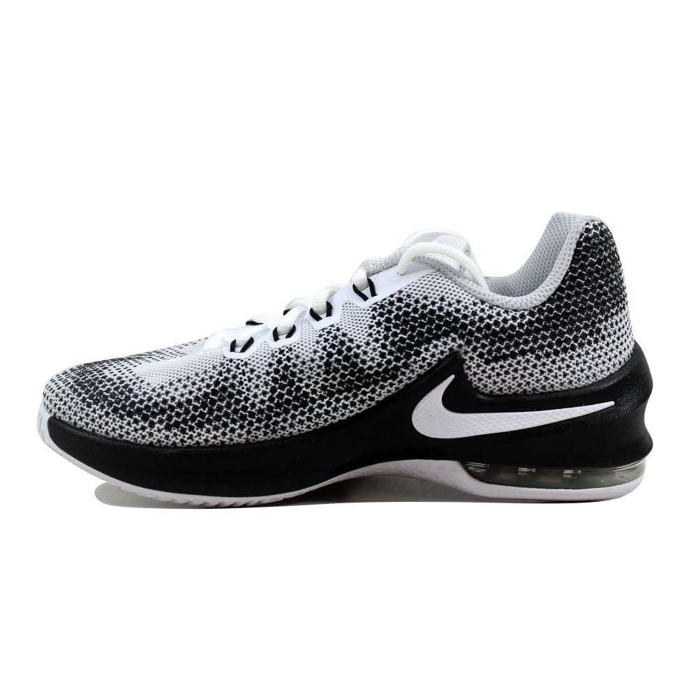 e626deef98 Shop Nike Air Max Infuriate White/Black-Wolf Grey 869991-100 Grade-School -  Free Shipping Today - Overstock - 27601220