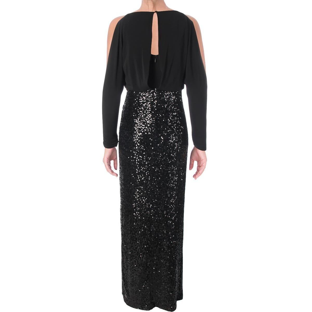 7ecbc114dc Shop Lauren Ralph Lauren Womens Semi-Formal Dress Evening Sequin - Free  Shipping Today - Overstock.com - 23141167