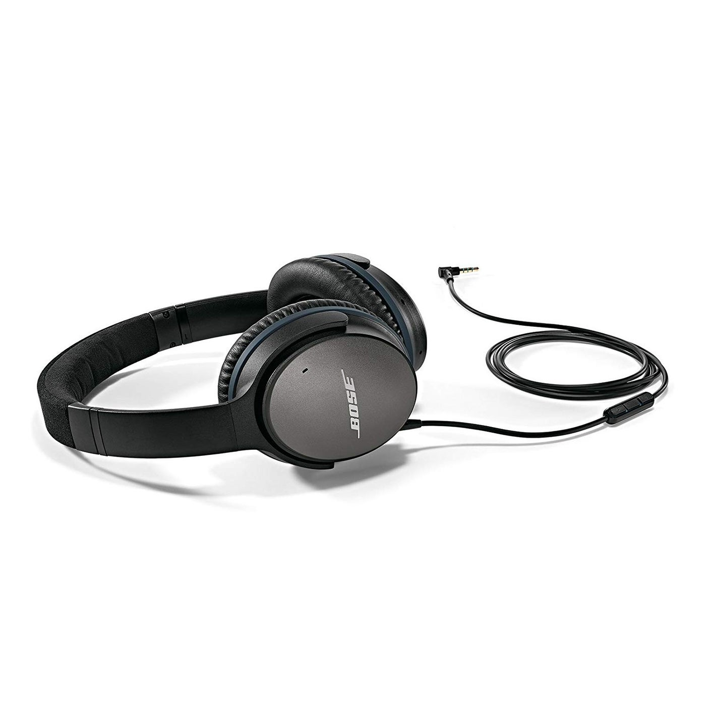 0f310f1e349 Bose QuietComfort 25 Acoustic Noise Cancelling Headphones for Apple devices  - Black (wired, 3.5mm)