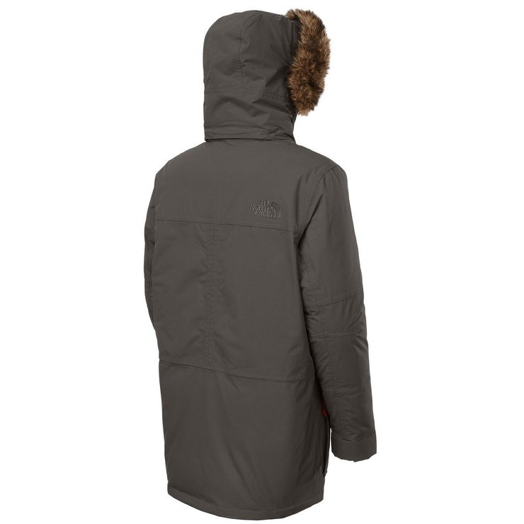 9551b6596 THE NORTH FACE Mchaven Mens Parka XL Graphite Gray Hooded Down Fill Coat  $449