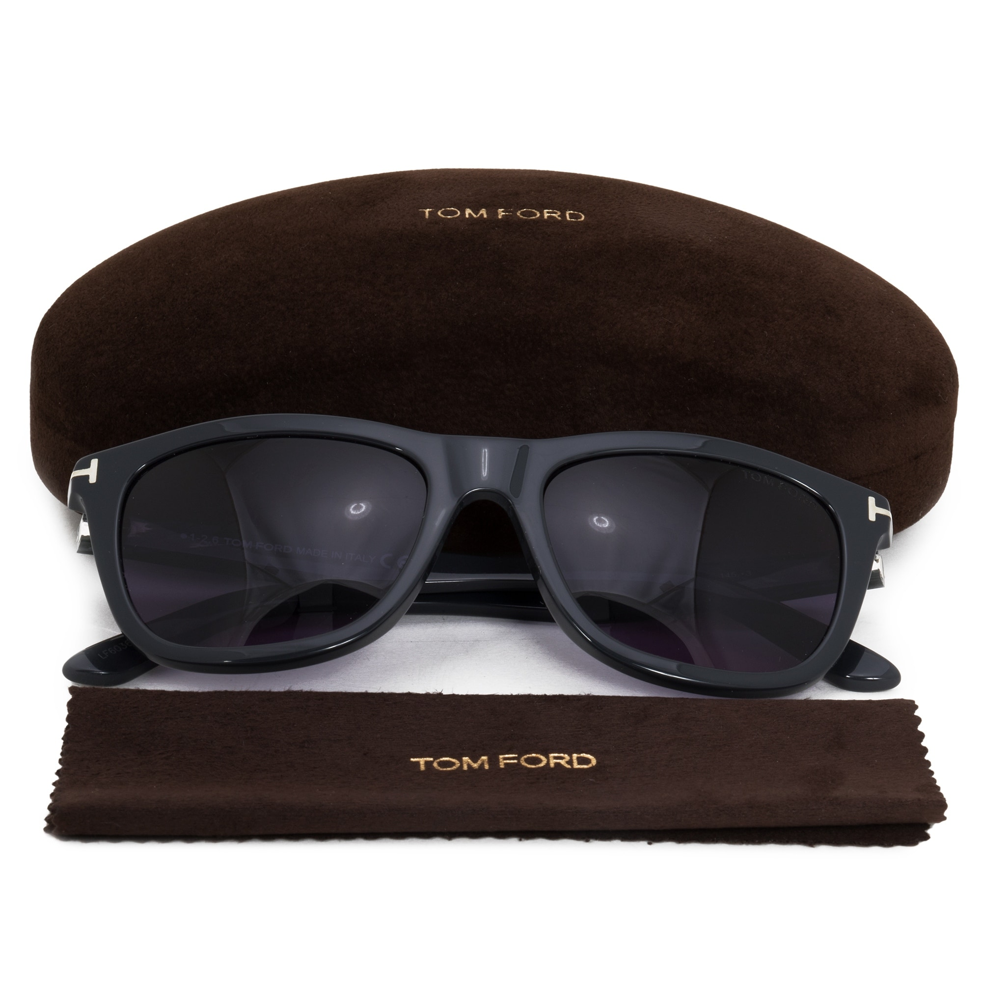 f45ef985c7a Shop Tom Ford Andrew Wayfarer Sunglasses FT0500 20V 54 - Free Shipping  Today - Overstock - 21408678