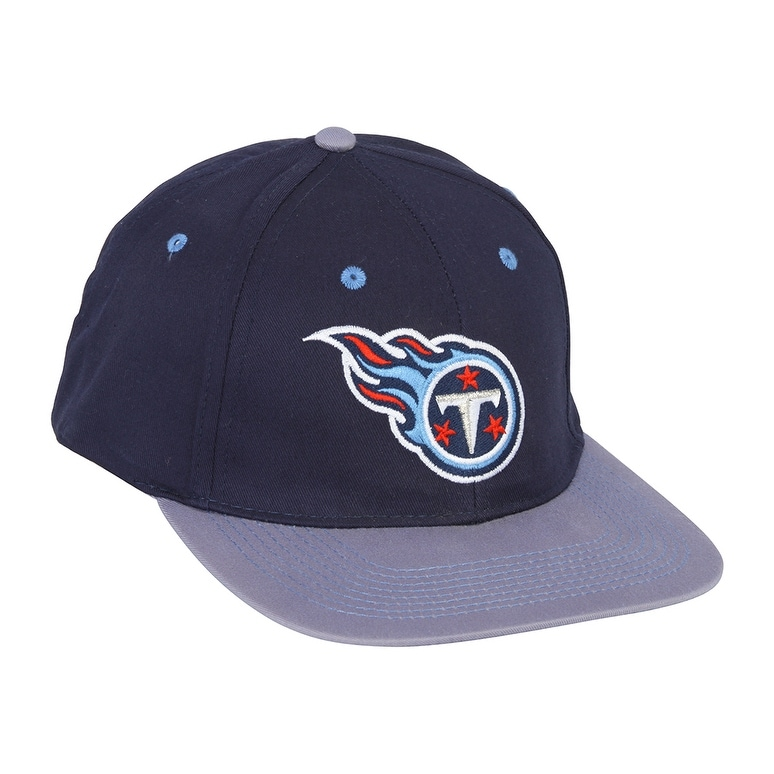 06057b36 NFL Snapback Cotton Tennessee Titans Hat Cap - Navy/Baby Blue
