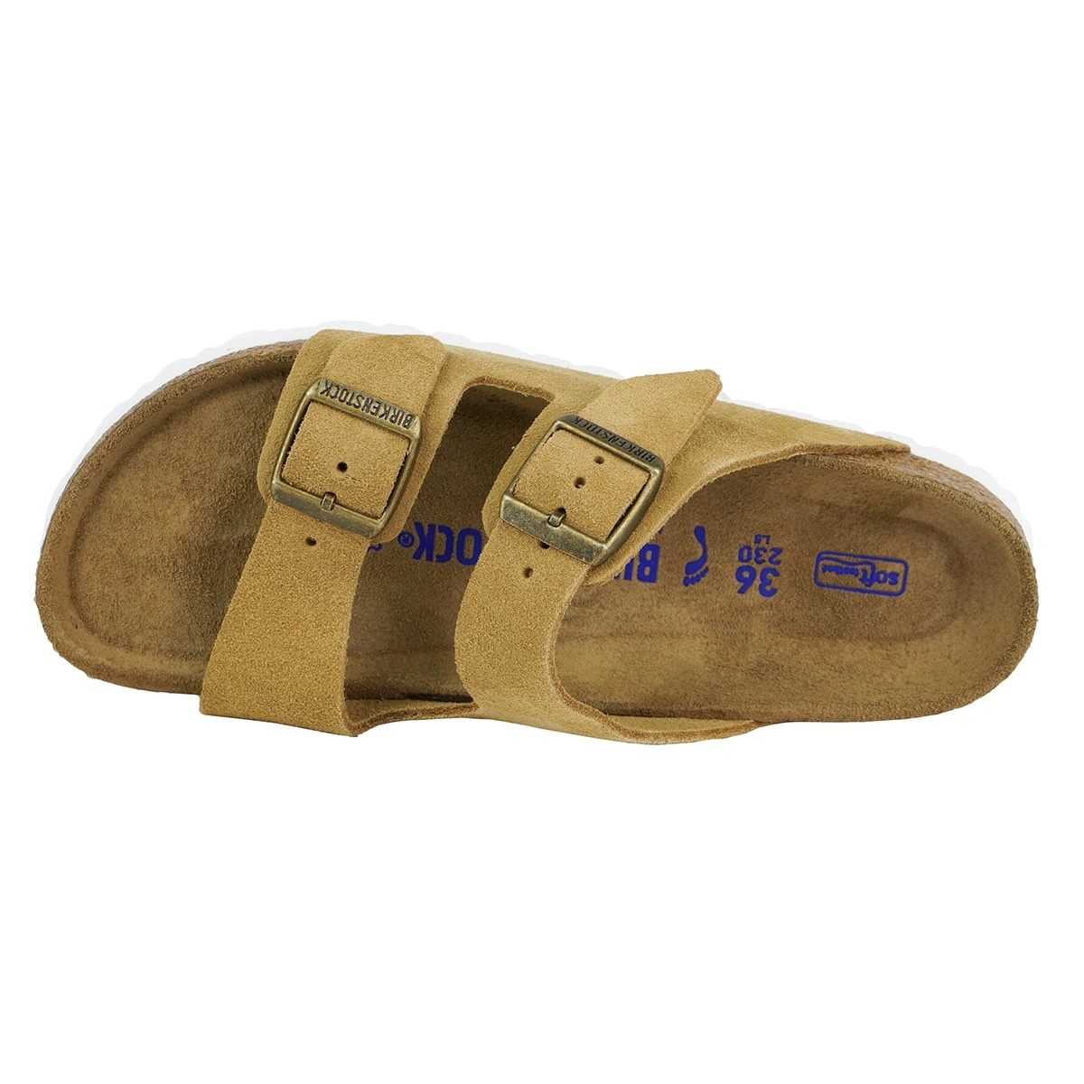 b570036a3782 Shop Birkenstock Arizona Soft Footbed Suede Leather Sandals - On Sale -  Free Shipping Today - Overstock - 23467289