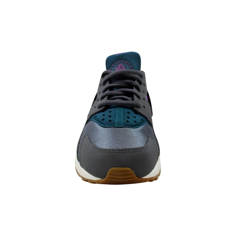 f7809a3838a0 Shop Nike Air Huarache Run Dark Grey Teal 634835-016 Women s - Free  Shipping Today - Overstock - 27993543