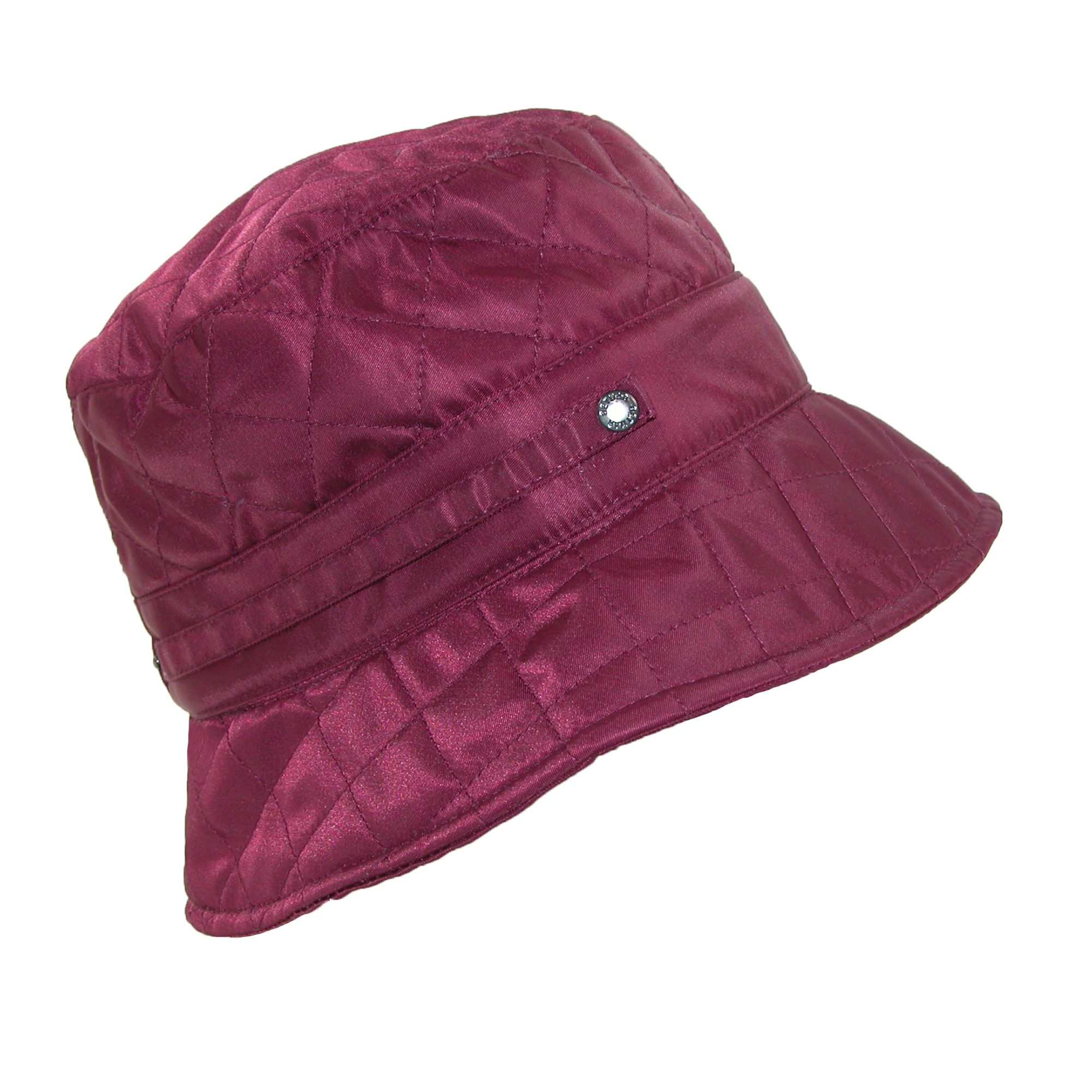 e621b79c0d973 Shop Betmar Women s Nylon Quilted Waterproof Bucket Rain Hat - Free  Shipping On Orders Over  45 - Overstock - 14294919