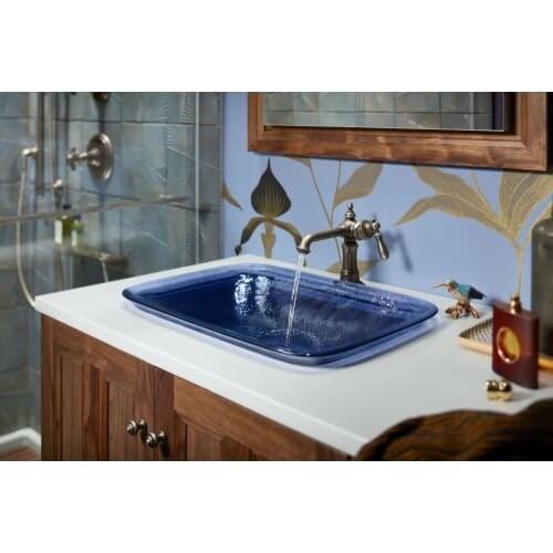 Kohler K-72762-9M Artifacts Single Hole Bathroom Faucet - Free Metal ...